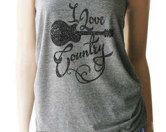 I Love Country Music Tank. Country Music Shirt. Country Music Tank. Country Festival Tanks. Country Tank. Southern Girl. Country Festival.