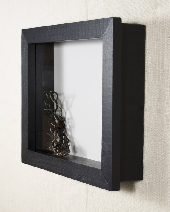 12x12 shadow box frame extra deep shadow box 4 inches or 5 inches deep display case display frame black - Display Frame
