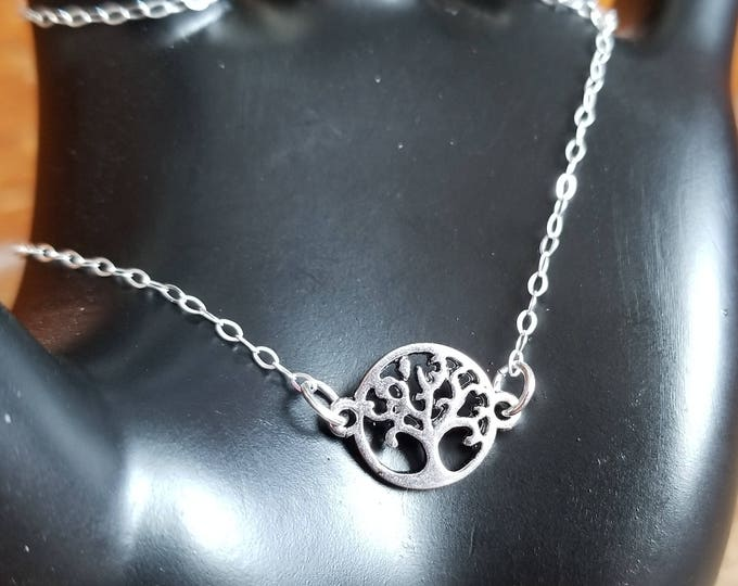 Tree of Life Silver Necklace Pendant