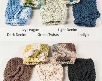 Crochet Soap Saver, Winter Soap Saver by Sam, USA Grown Cotton, US Shipping Included Bath, Soap, Shower,  Bathroom, Scrub,  Bath and Beauty