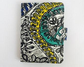 "8"" Ankara Doodle Tablet Case // Notepad Holder & Cover // African Print"