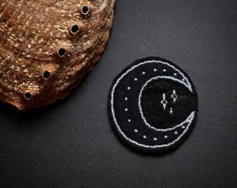 Moon Patch Embroidery