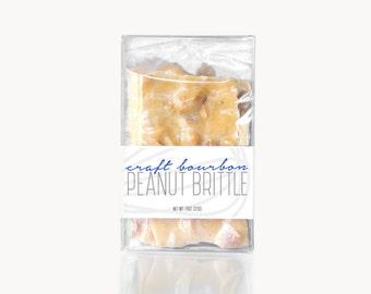 Craft Bourbon Peanut Brittle