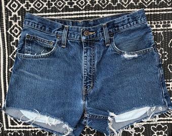 Arizona High Waisted Jean Shorts