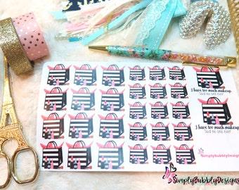 Planner Stickers - Sephora/Makeup Stickers 026