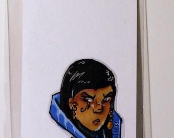 Pharah Overwatch Hand-Made Custom Sticker