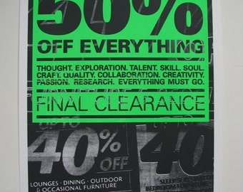 Sell-Out (Final Clearance)