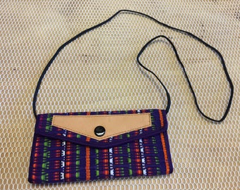 Clutch wallet maya art