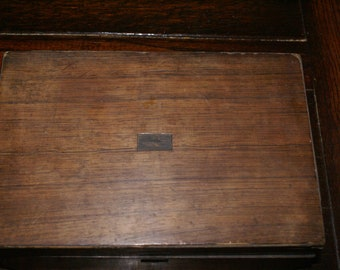 VICTORIAN LAP DESK Antique Travel Desk, Campaign Desk, Antique Correspondence