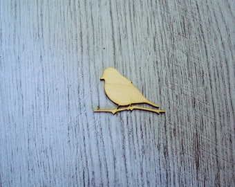 Big Bird 1335 embellishment wooden creations