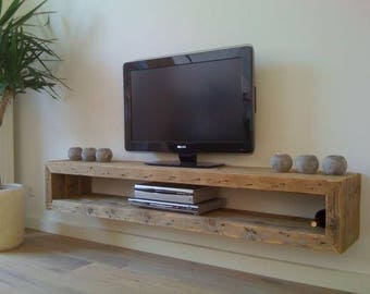 Tv stand etsy for Diy shelves philippines