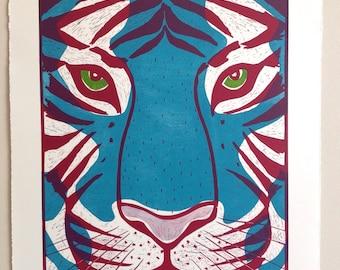 Dark Turquiose Tiger