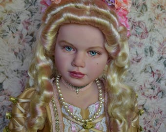 Marie Antoinette ~ Completed Life-size Historical Portrait reborn Art doll Versailles, Rococo, Baroque French Court