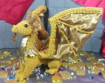 Golden Dragon Plush