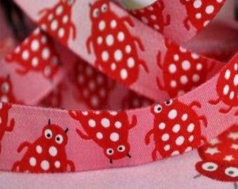 Ribbon tape little red rose critters farbenmix
