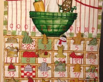Christmas Cookie Countdown Advent Calendar