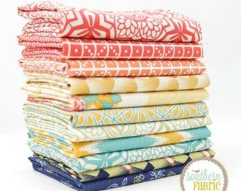 Botanique by Joel Dewberry -11 Fat Quarter Bundle Quilt Fabric - Free Spirit