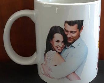 Personalize Valetine's Coffee Cup