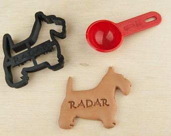 Scottish Terrier Cookie Cutter Pet  Custom Treat Personalized