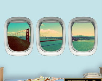 Airplane Window Etsy