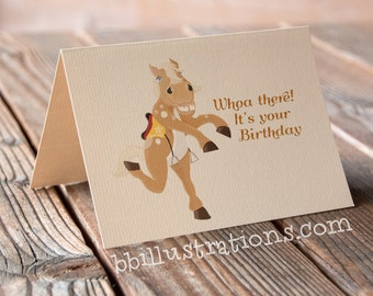 pony, card for him, card for her, instant download, greetings card, little pony, funny blank card, card for friend, birthday card, art card