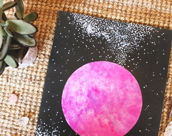 PRINT - Pink Planet