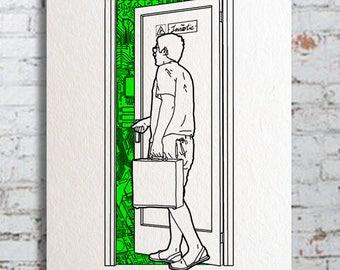 IMNÒTIC DOOR. Paper version.