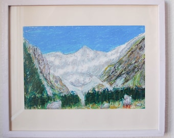 Swiss mountains La Fouly, Val Ferret another II - Switzerland art