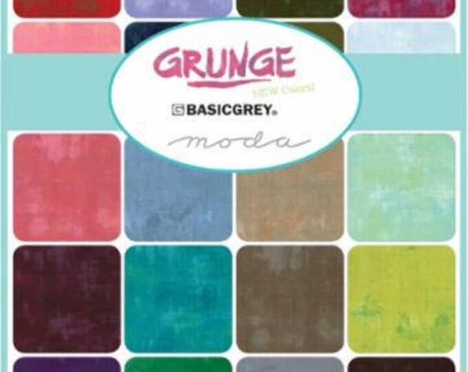 Grunge Basic Grey -  25 x FQ bundle