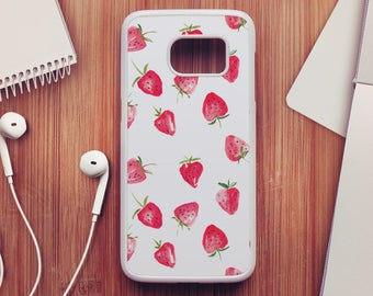 Strawberry Case For Samsung Galaxy S8, Strawberry Case For Samsung Galaxy S7, Strawberry Case For Samsung Galaxy S6, Strawberry Case