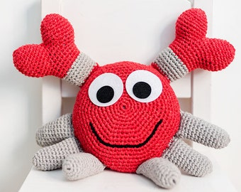 Amigurumi PATTERN - Crabbie the crab (CROCHET)
