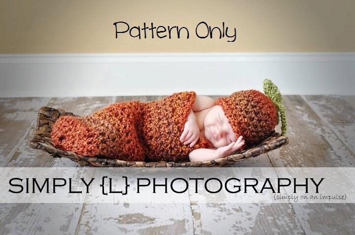 Patrón de ganchillo de recién nacido bebé ganchillo patrón