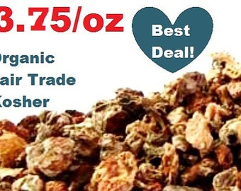 Organic RHODIOLA ROOT -1oz- American grown Rhodiola rosea Arctic root, kosher, fair trade, non-GMO, ounce