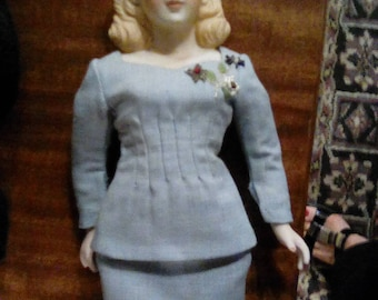 1940's costumed doll