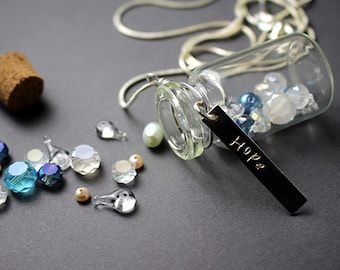 Tears in a Bottle Necklace
