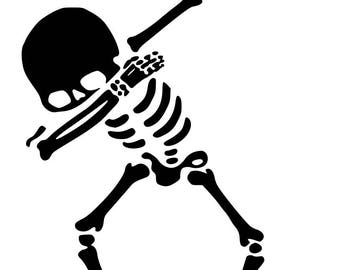 Skeleton Dab (SVG, JPG, studio3)