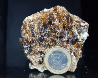 Sphalerite mineral specimen, rock collection specimen from Europe, medium cabinet size, rock collection, #M168