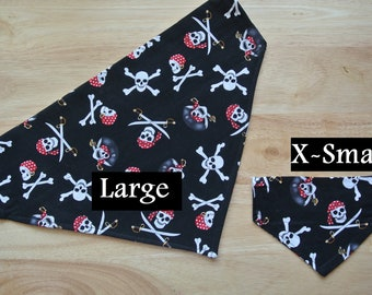 Pirate's Life Slip-On the Collar Bandana