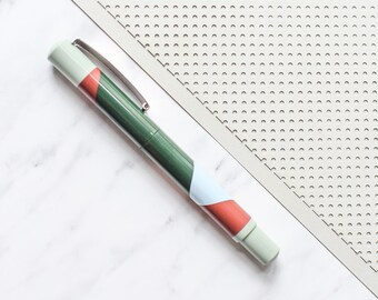 Stabilo Fountain pen, green ink pen, dark green pen, Stabilo ink pen, fountain pen, green fountain pen, dark green ink pen, gift girlfriend