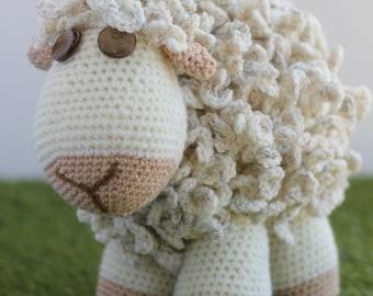 Crochet Sheep US Pattern - Amigurumi Sheep Pattern - US crochet terms