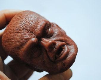 Handmade Large 3D Werewolf Soap – Zombie Soap, Christmas gift, stocking gift, Novelty