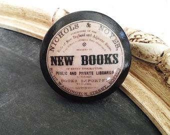 Vintage Knobs The Books Series NEW BOOKS Door Pull