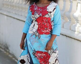 ankara top, print top, african print, top, blouse, tunic, dashiki, dashiki dress, ankara dress, african print dress