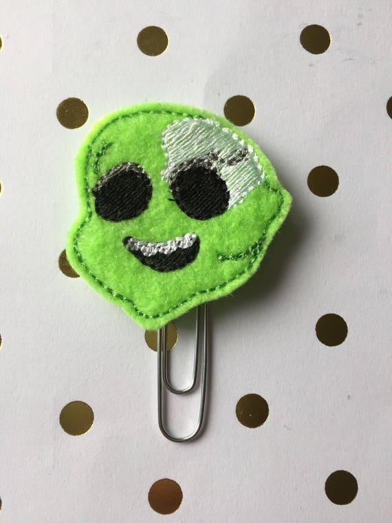 Zombie Dad planner Clip/Planner Clip/Bookmark. Halloween Planner Clip. Zombie Planner Clip. Fall Planner Clip.