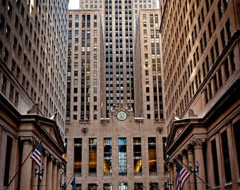 1440 Chicago Board of Trade, Chicago Photography, Cityscape, Street Photography, Fine Art Print