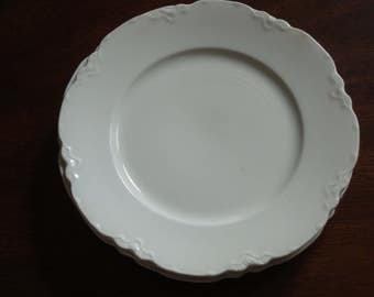 Antique Shabby Elegant Johnson Bros JB133 Bread and Butter, Pastry or Tea Plates!