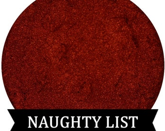 Metallic Red Eyeshadow NAUGHTY LIST