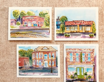 Town of Aberdeen - Pack of 8 Cards