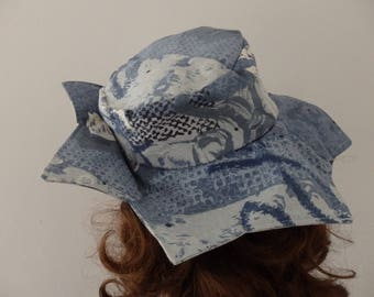 Hat brim star for child or small size