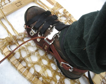 New Leather Snowshoe Harnesses